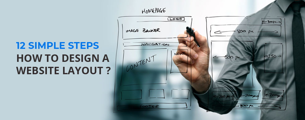 12 simple steps how to design a website layout